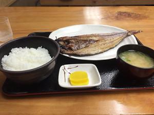 ホッケ定食